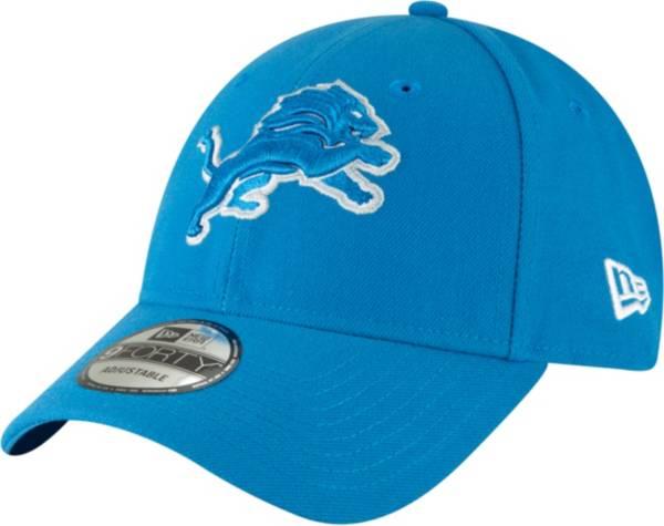 New Era Men's Detroit Lions League 9Forty Blue Adjustable Hat product image