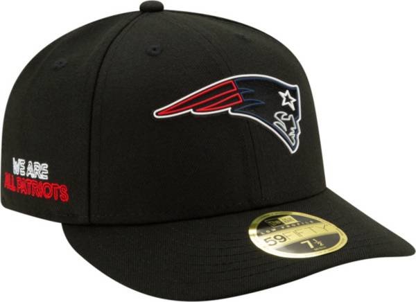 New Era Men's New England Patriots 2020 NFL Draft 59Fifty Fitted Black Hat product image