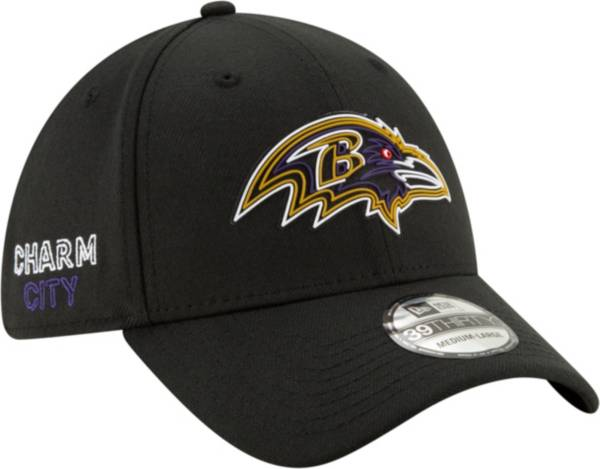 New Era Men's Baltimore Ravens 2020 NFL Draft 39Thirty Stretch Fit Black Hat product image