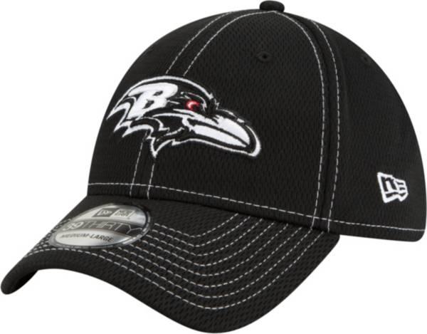 New Era Men's Baltimore Ravens Sideline Road 39Thirty Stretch Fit Black Hat product image