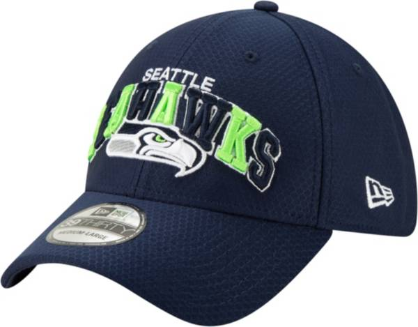 New Era Men's Seattle Seahawks Sideline 1990 Home 39Thirty Stretch Fit Hat product image