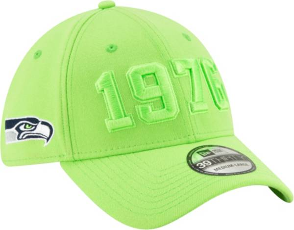 New Era Men's Seattle Seahawks Sideline Color Rush 39Thirty Stretch Fit Hat product image