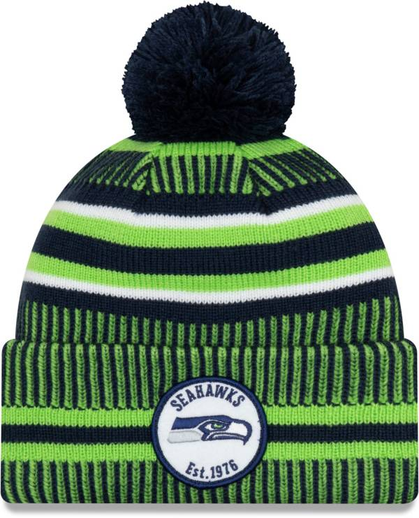 New Era Men's Seattle Seahawks Sideline Home Sport Pom Knit product image