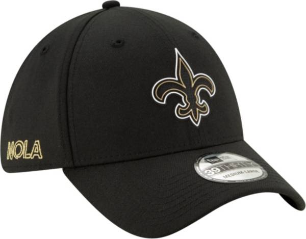 New Era Men's New Orleans Saints 2020 NFL Draft 39Thirty Stretch Fit Black Hat product image