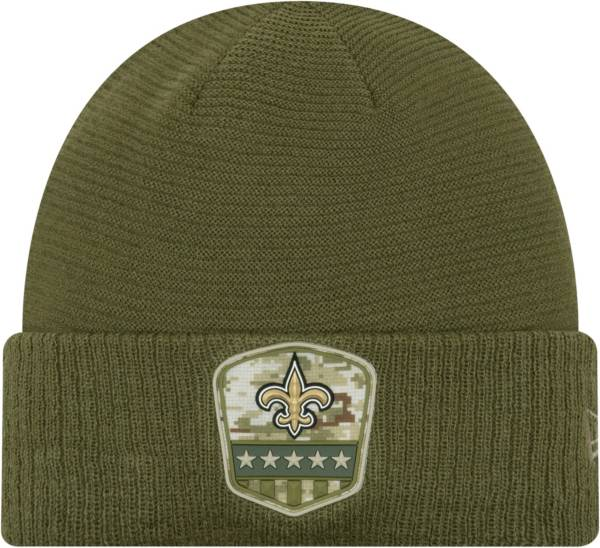 New Era Men's Salute to Service New Orleans Saints Olive Cuffed Knit product image