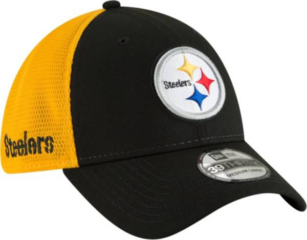 New Era Men's Pittsburgh Steelers 2Tone Sided 39Thirty Stretch Fit Hat product image