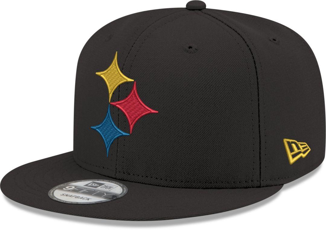 low priced 79720 338f7 New Era Men s Pittsburgh Steelers Elemental 9Fifty Adjustable Black Hat.  noImageFound. Previous. 1