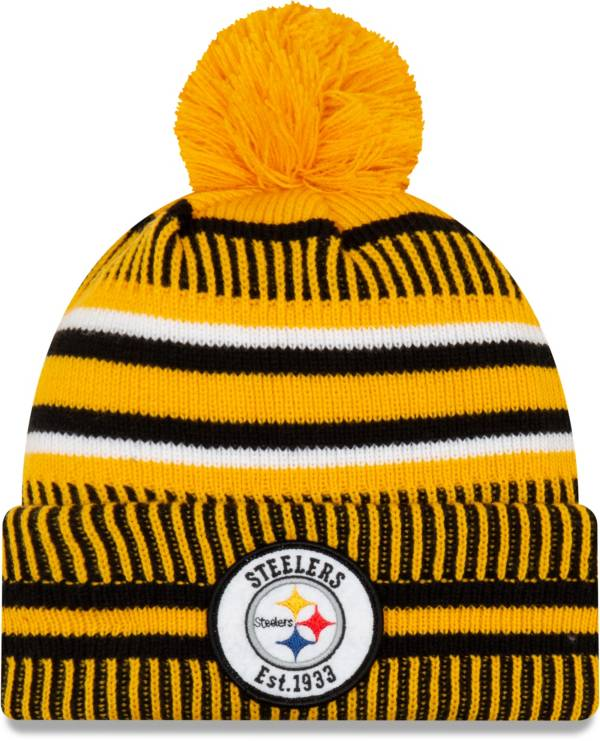New Era Men's Pittsburgh Steelers Sideline Home Sports Knit product image