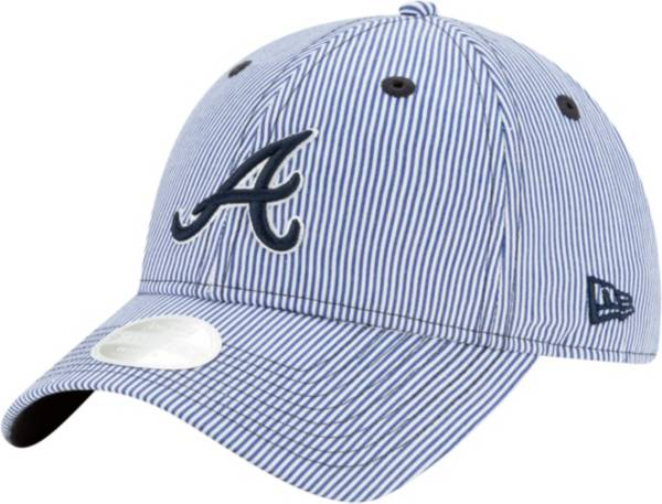 New Era Women's Atlanta Braves Navy Preppy 9Twenty Adjustable Hat product image