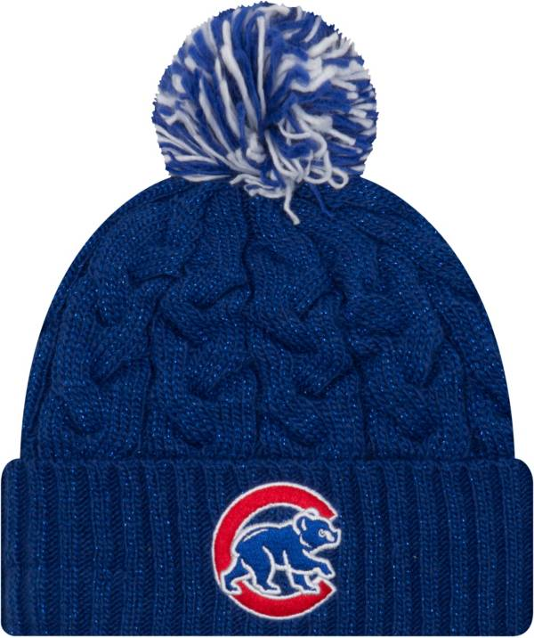 New Era Women's Chicago Cubs Cozy Cable Knit Hat product image