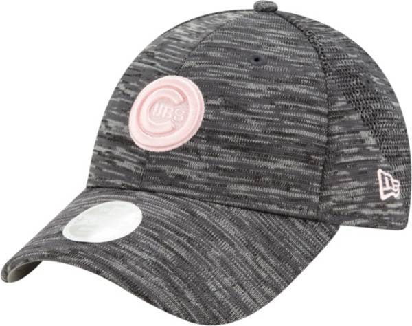 New Era Women's Chicago Cubs Gray 9Forty Tech League Adjustable Hat product image