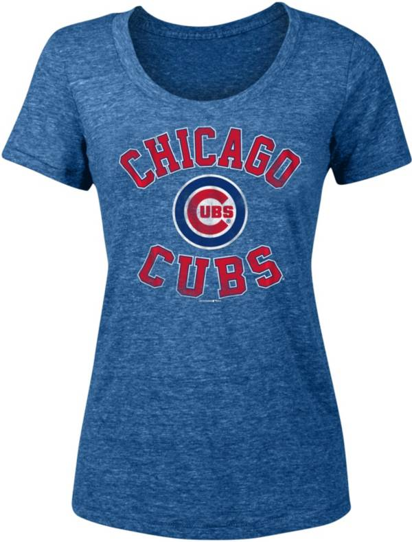 New Era Women's Chicago Cubs Tri-Blend T-Shirt product image