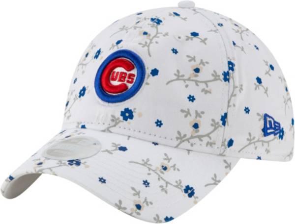 New Era Women's Chicago Cubs White Blossom 9Twenty Adjustable Hat product image