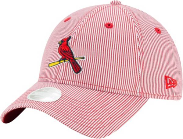New Era Women's St. Louis Cardinals Red Preppy 9Twenty Adjustable Hat product image