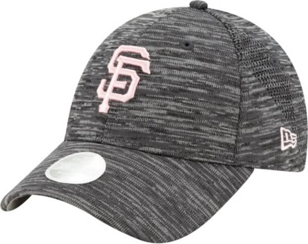 New Era Women's San Francisco Giants Gray 9Forty Tech League Adjustable Hat product image