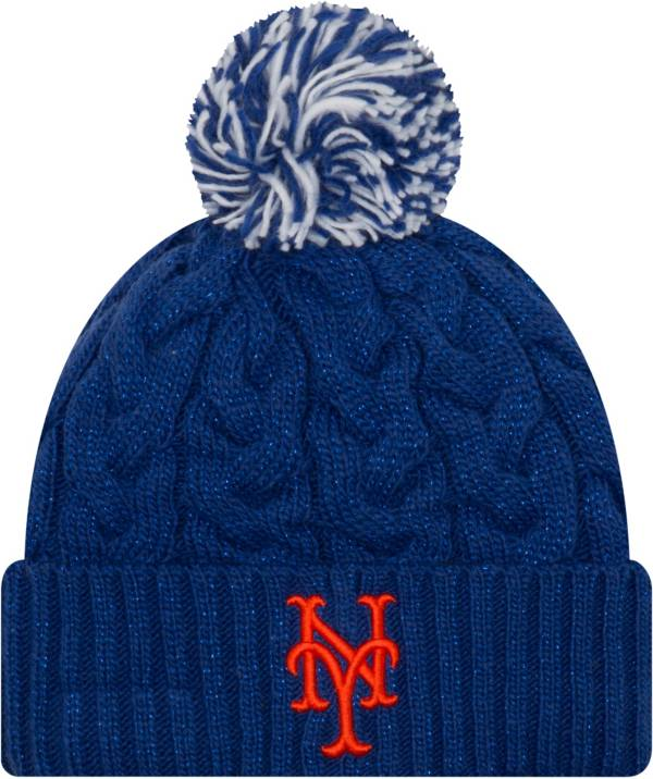 New Era Women's New York Mets Cozy Cable Knit Hat product image
