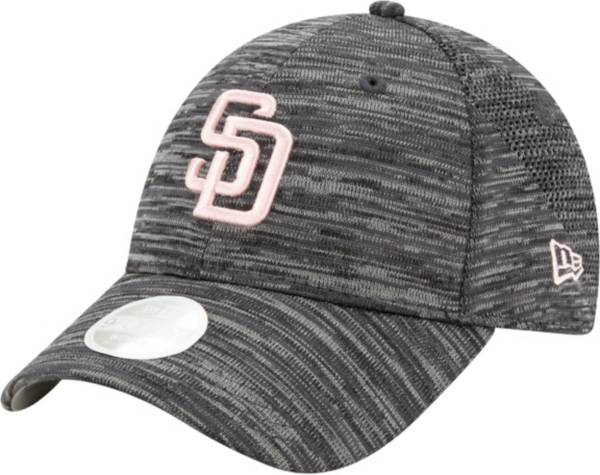 New Era Women's San Diego Padres Gray 9Forty Tech League Adjustable Hat product image