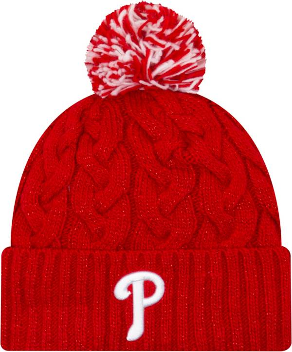 New Era Women's Philadelphia Phillies Cozy Cable Knit Hat product image