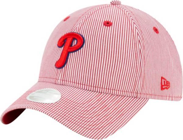 New Era Women's Philadelphia Phillies Red Preppy 9Twenty Adjustable Hat product image