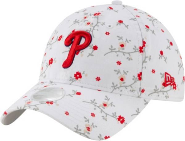 New Era Women's Philadelphia Phillies White Blossom 9Twenty Adjustable Hat product image