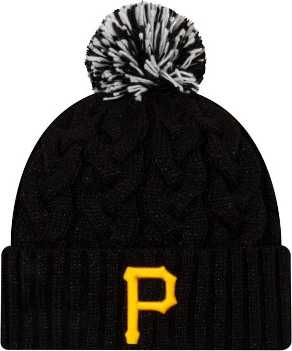New Era Women's Pittsburgh Pirates Cozy Cable Knit Hat product image