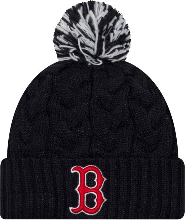 New Era Women's Boston Red Sox Cozy Cable Knit Hat product image