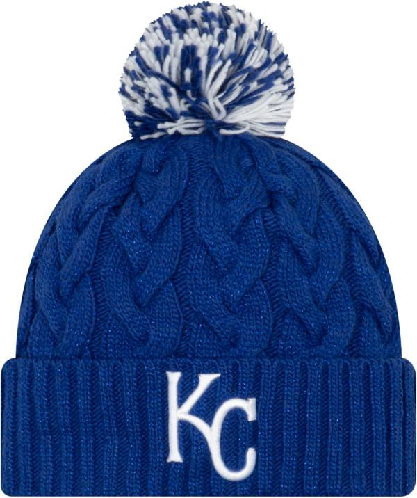 New Era Women's Kansas City Royals Cozy Cable Knit Hat product image