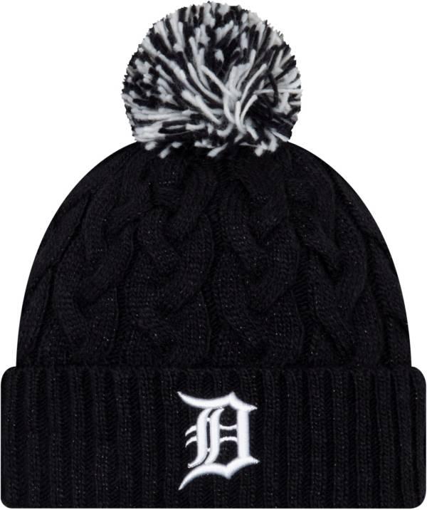 New Era Women's Detroit Tigers Cozy Cable Knit Hat product image