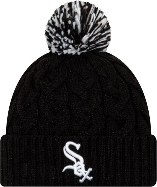 New Era Women's Chicago White Sox Cozy Cable Knit Hat product image