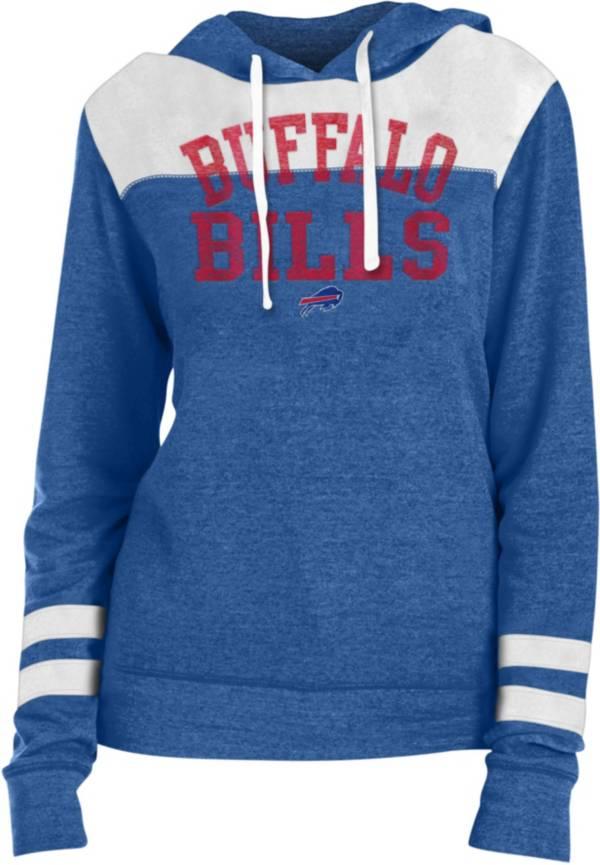 New Era Women's Buffalo Bills Tri-Blend Fleece Royal Hoodie product image