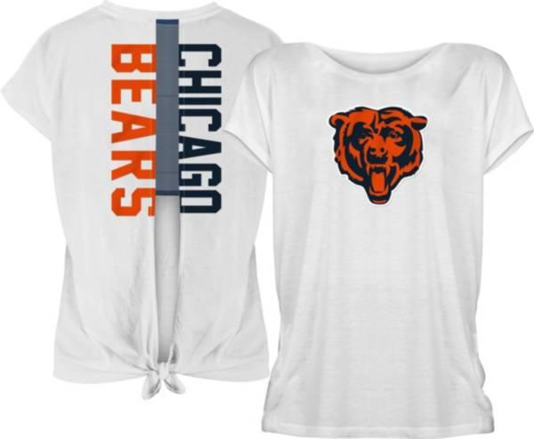 New Era Women's Chicago Bears Split Back White T-Shirt product image