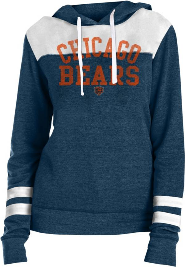 New Era Women's Chicago Bears Tri-Blend Fleece Navy Hoodie product image