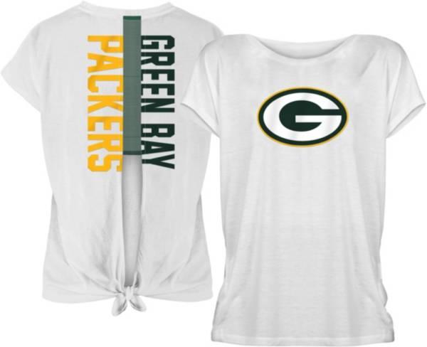 New Era Women's Green Bay Packers Split Back T-Shirt product image
