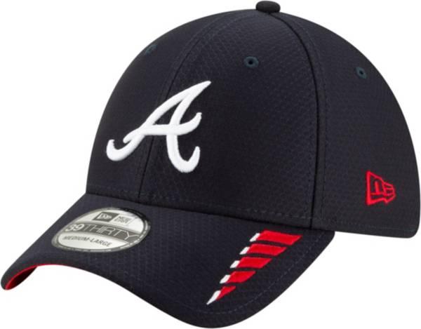 New Era Youth Atlanta Braves Navy 39Thirty Rush Stretch Fit Hat product image