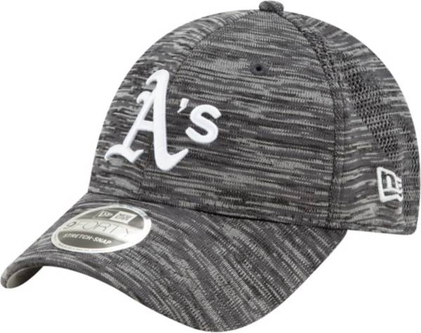 New Era Youth Oakland Athletics Gray 9Forty Shadow Neo Adjustable Hat product image