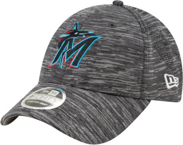 New Era Youth Miami Marlins Gray 9Forty Shadow Neo Adjustable Hat product image