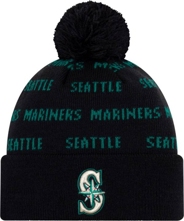 New Era Youth Seattle Mariners Repeat Knit Hat product image