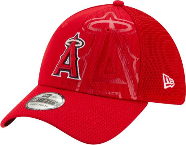New Era Youth Los Angeles Angels Red 39Thirty Tonel Neo Stretch Fit Hat product image