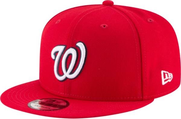 New Era Youth Washington Nationals 59Fifty Red Authentic Hat product image