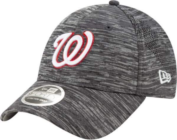 New Era Youth Washington Nationals Gray 9Forty Shadow Neo Adjustable Hat product image