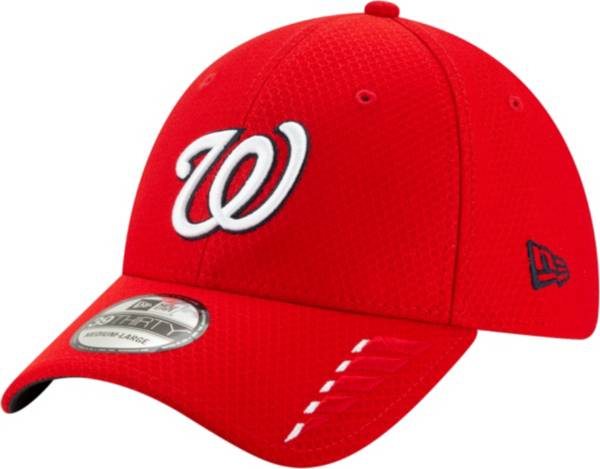 New Era Youth Washington Nationals Red 39Thirty Rush Stretch Fit Hat product image