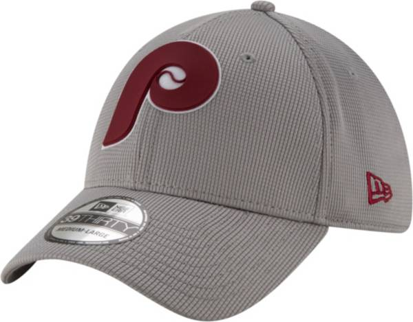 New Era Men's Philadelphia Phillies Gray 39Thirty Clubhouse Stretch Fit Hat product image