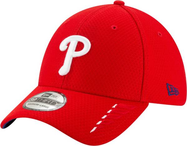 New Era Youth Philadelphia Phillies Red 39Thirty Rush Stretch Fit Hat product image