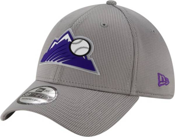 New Era Men's Colorado Rockies Gray 39Thirty Clubhouse Stretch Fit Hat product image