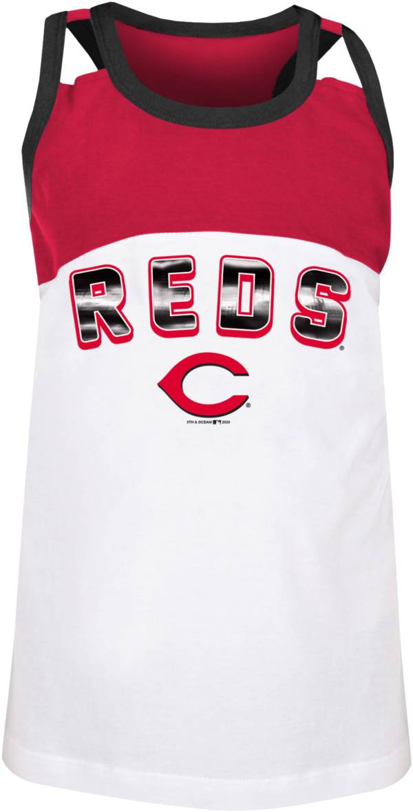 New Era Youth Cincinnati Reds Red Jersey Tank Top product image
