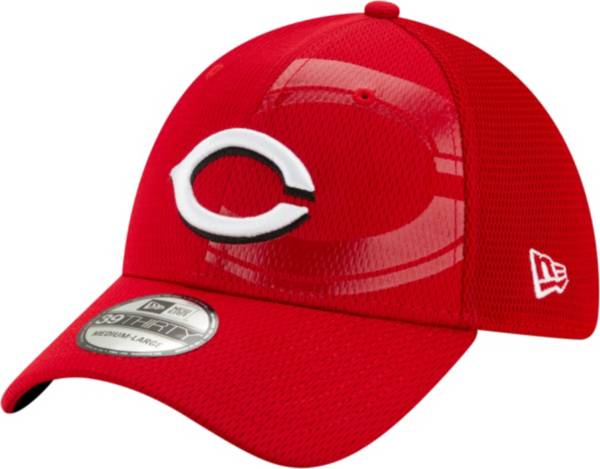 New Era Youth Cincinnati Reds Red 39Thirty Tonel Neo Stretch Fit Hat product image