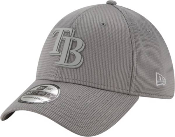 New Era Men's Tampa Bay Rays Gray 39Thirty Clubhouse Stretch Fit Hat product image