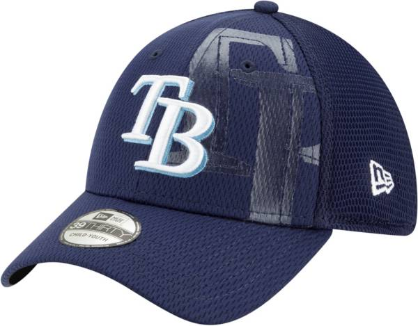 New Era Youth Tampa Bay Rays Navy 39Thirty Tonel Neo Stretch Fit Hat product image