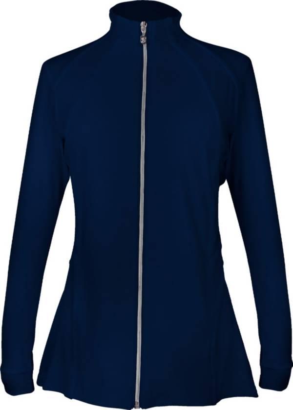 Sofibella Women's Pleated Full Zip Jacket product image