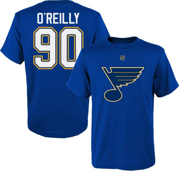 NHL Youth St. Louis Blues Ryan O'Reilly #90 Royal Player T-Shirt product image